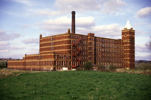 Originally the company was based at Pear Tree Mill. Stockport.